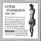 Various Artists: Guitar Evangelists (1928-1951)