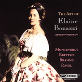 Art of Elaine Bonazzi - Monteverdi, et al / Bonazzi, Mack