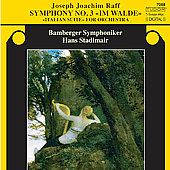 Raff: Symphony no 3, etc / Stadlmair, Bamberg SO