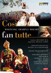 Mozart: Cosi Fan Tutte / Muti, Marshall, Murray, Araiza [2 DVD]