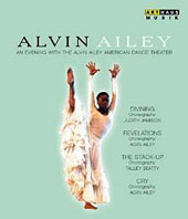 Alvin Ailey: An Evening with the Alvin Ailey American Dance Theater - 'Divining,' 'Revelations,' 'The Stack-Up,' 'Cry' [Blu-Ray]