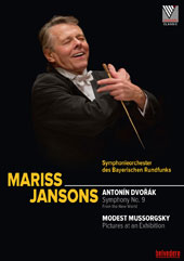 Dvorák: Symphony No. 9 'From the New World'; Mussorgsky: Pictuers at an Exhibition / Bavarian Radio SO, Mariss Jansons [DVD]