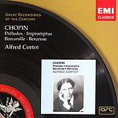Chopin: Preludes, Impromptu, etc / Alfred Cortot
