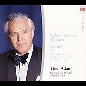 Mozart: Arias / Suitner, Adam, Olbertz, et al