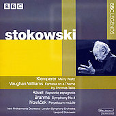 Klemperer, Ravel, Brahms, etc / Stokowski
