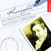 Korngold: Sursum Corda, etc / Bamert, et al