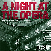 A Night at the Opera - 6 Complete Operas by Mozart, etc [14 CDs]