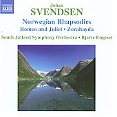 Svendsen: Norwegian Rhapsodies no 1-4, etc / Bjarte Engeset, South Jutland SO