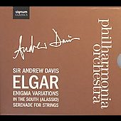 Elgar: Enigma Variations; In the South; Serenade for Strings