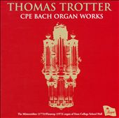 CPE Bach Organ Works