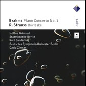 Brahms: Piano Concerto No. 1; Richard Strauss: Burleske
