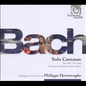Bach: Cantata for Alto; Cantata for Bass; German Cantatas before Bach