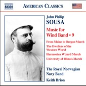 Sousa: Music for Wind Band, Vol. 9 / Keith Brion
