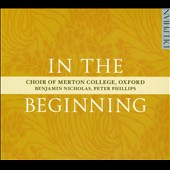 In the Beginning / Benjamin Nicholas, Peter Phillips