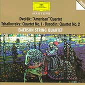 Dvor&#225;k, Tchaikovsky, Borodin: Quartets / Emerson String Qt