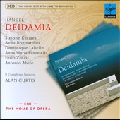 G.F. Handel: Deidamia / Kermes, Bonitatibus, Labelle, Panzarrella, Alan Curtis