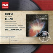 Holst: The Planets; Elgar: Enigma Variations / Sir Adrian Boult - London SO