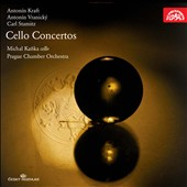 Antonín Kraft, Antonín Vranicky, Carl Stamitz: Cello Concertos Michal Kanka, cello
