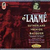 Delibes: Lakm&#233; / Bonynge, Sutherland, Vrenios, Bacquier