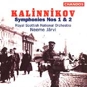 Kalinnikov: Symphonies no 1 & 2 / J&auml;rvi, Royal Scottish NO