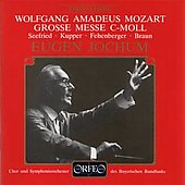 Mozart: Grosse Messe C-Moll / Eugen Jochum