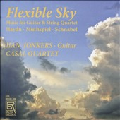 Flexible Sky: Music for Guitar & String Quartet by Haydn, Wolfgang Muthspiel (b.1965); Joseph Schnabel (1767-1831) / Han Jonkers, guitar; Casal Quartet