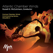 Cochran Chamber Winds Commissioning Series, Vol. II - Works by Rolf Rudin, Daniel Bukvich, Clark McAlister and Michael Weinstein / Atlantic Chamber Winds
