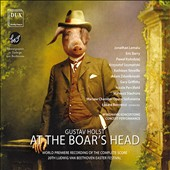 Vaughan Williams: Riders to the Sea; Holst: At the Boar's Head / Eric Barry; Kathleen Reveille; Jonathan Lemalu; Evanna Chiew; Adam Zdunikowski; Mateusz Stachura