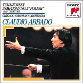 Tchaikovsky: Symphony no 3, etc / Abbado, Chicago SO