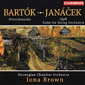 Bartók: Divertimento;  Janácek: Idyll, Suite for Strings