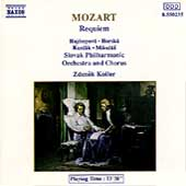 Mozart: Requiem / Kosler, Hajossyova, Horska, Kundlak