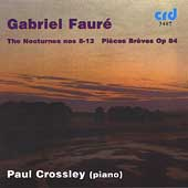 Fauré: Complete Piano Works Vol 2 / Paul Crossley