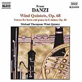 Danzi: Wind Quintets Op 68 / Michael Thompson Wind Quintet