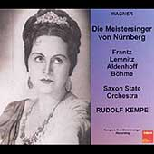 Wagner: Die Meistersinger / Kempe, Frantz, Lemnitz, Unger