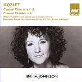 Mozart: Clarinet Concerto, Clarinet Quintet / Emma Johnson