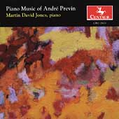 Previn: Piano Music / Jones