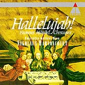 Hallelujah! - Famous H&auml;ndel Choruses / Nikolaus Harnoncourt