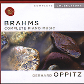 Complete Collections - Brahms: Complete Piano Music / Oppitz