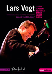 Live at Verbier 2011 - Works by Janacek, Schubert, Beethoven, Brahms, Mozart & Chopin / Lars Vogt, piano [DVD]