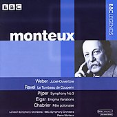 BBC Legends - Weber, Ravel, etc / Monteux