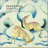 Erdmann: Symphony no 4, etc / Yinon, et al