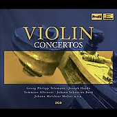 Mendelssohn, Tchaikovsky, Bach, Brahms, etc: Violin Concertos / Oistrakh, Hagen, Zukermann, et al