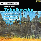 Tchaikovsky: Symphony no 4 & 5, Romeo and Juliet, Piano Concerto no 1