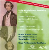 Mendelssohn Bartholdy: Konzert f&#252;r Violine, Klavier und Orchester; Konzert f&#252;r Violine und Orchester [Hybrid SACD]