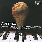 Satie: Complete Music for Piano Four Hands