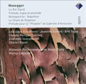 Honegger: Le Roi David; Monopartita