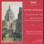 York Bowen: String Quartet Nos. 2 & 3; Phantasy Quintet
