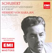 Schubert: Symphonies 8 'Unfinished' & 9 'Great' / Karajan