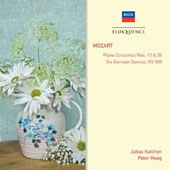 Mozart: Piano Concertos Nos. 13 & 20; Six German Dances