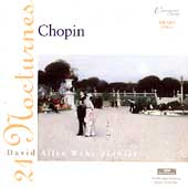 Chopin: 21 Nocturnes / David Allen Wehr